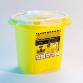 11458 riskavfallsbehållare 7 liter scandivet