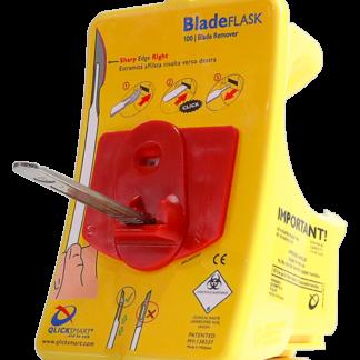 """Foto på """"Bladeflask"""" - bladborttagare för skalpell"""