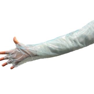 35352 armskydd plast steril 5par scandivet